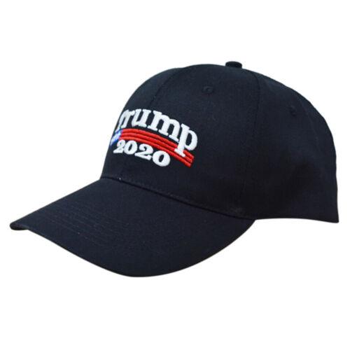 10x Donald TRUMP  MAGA Make America Great Again Hat Election Cap Black & Red 10