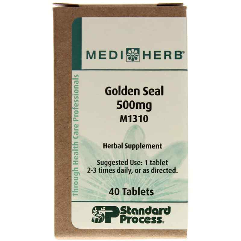 Standard Process | Golden Seal 500mg | 40 Tablets