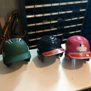 tee ball helmets and shoes