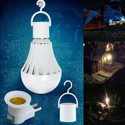Led E27 Energy Saving Intelligent Emergency Bulb Lamp Lighting Rechargeable Lamp