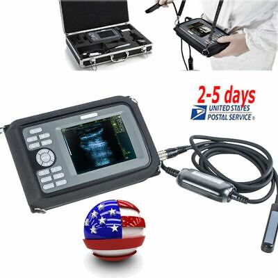 Vet Digital Portable Veterinary Ultrasound Scanner Machine Rectal Probe For Dog