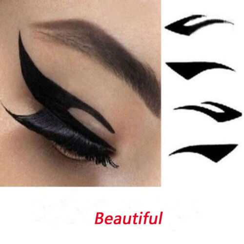 Details about 40 pairs of temporary eye shadow eyeliner tattoo transfer  stickers