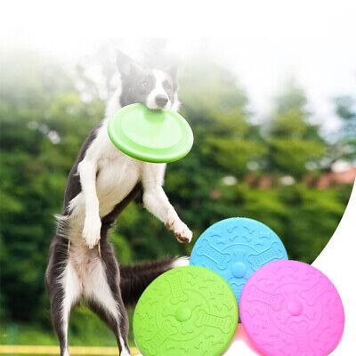 Haustier Spielzeug Hund Welpe Flying Disc Hund Frisbees Soft Rubber unzerstörbar