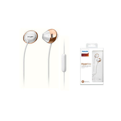 Philips SHE4205 WT Flite Headphones with Mic In ear headphone White / Genuine
