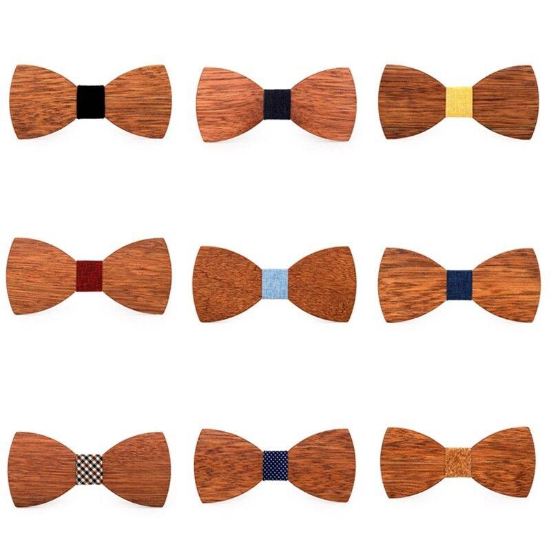Schmetterling Mode Holz Fliege Partei Hals Bowtie Nette Geschenke Verf gbar Neu