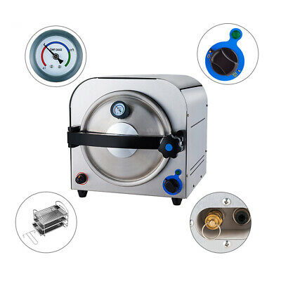 14l Medical High Pressure Performance Steam Sterilizer Dental Autoclave Tr250e