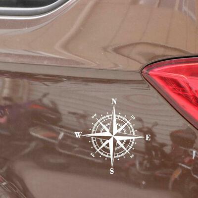 1 stück DIY Kompass Vinyl Aufkleber Auto Aufkleber Abziehbilder Dekorative