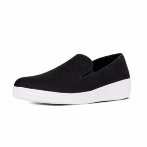 BRAND NEW Fitflops - Superskate Textile Loafers (black)