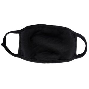 Adults Unisex Outdoor Mouth Anti-Dust Face Mask Fashion Black Respirator Mask US