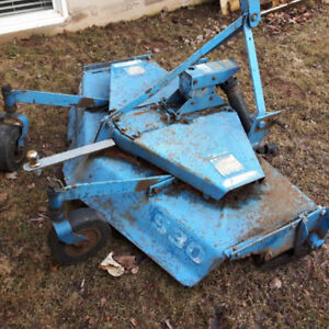 """Rear Mount 3 its Hitch Finishing Mower 60"""" for sale"""