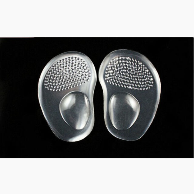 Silicone Gel Ball Foot Cushion Insoles Metatarsal Support Insert Pad Shoes Gifts