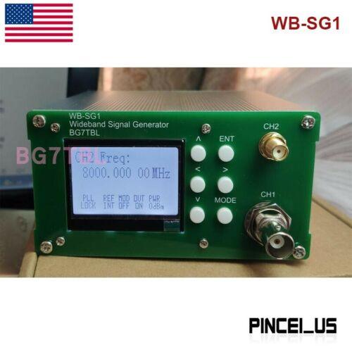 WB-SG1 1Hz-8GHz Signal Source Signal Generator W/ OOK modulation OCXO inside US/
