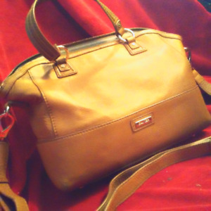 Danier Brown Leather Purse