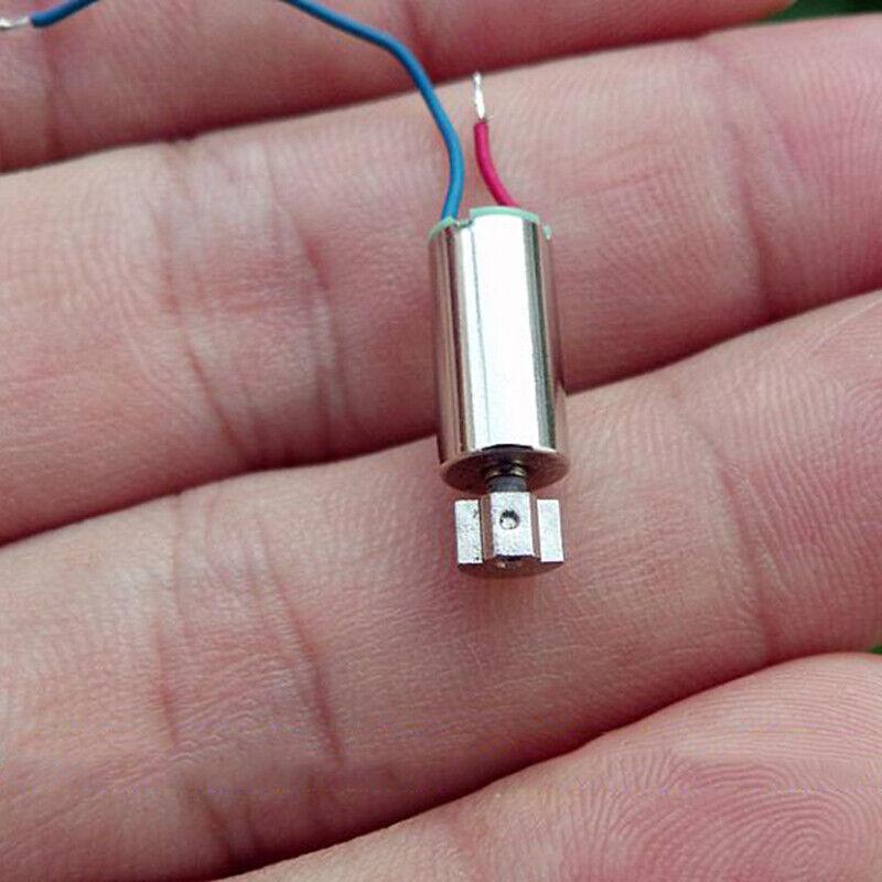 6mm*12mm DC 2V 2.4V 3V Mini Coreless Vibration Vibrating Motor DIY Toy Massager