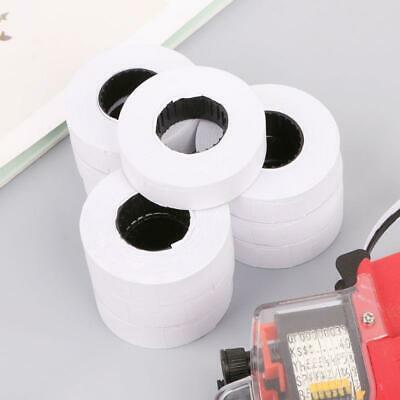 10rolls Price Label Paper Tag Mark Sticker Double Row For Mx-6600 Labeller Gun