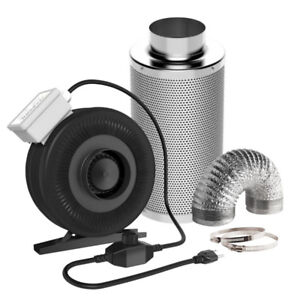 "Carbon Filters and Inline Fans - Combo Kits - Ducting - 4"",6"",8"""