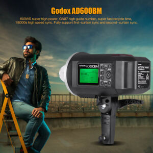 GODOX AD600BM and AD600 Pro ALL IN ONE OUTDOOR STUDIO 600 W