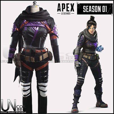 Custom Character Costumes (Apex legends Wraith Cosplay Costume Customize official character)