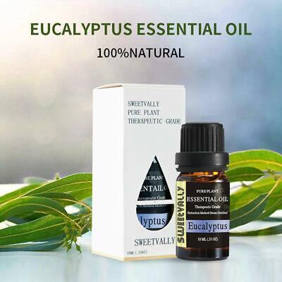 Eucalyptus Essential Oils Natural Pure SPA Aromatherapy Humi