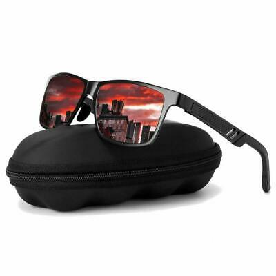 Mens Glasses Polarized Sunglasses Outdoor Sports Driving Fishing Eyewear UV400 #