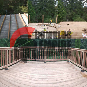 Pressure treated, Composite & Wood Decks/Fencing