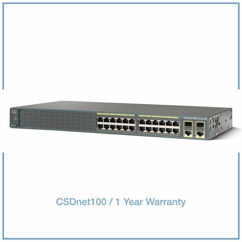 New Cisco Ws-c2960+24pc-l