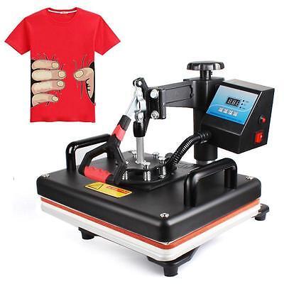 Useful 5in1 Digital Heat Press Machine Transfer Printer Fort-shirt Mug Hat Plate