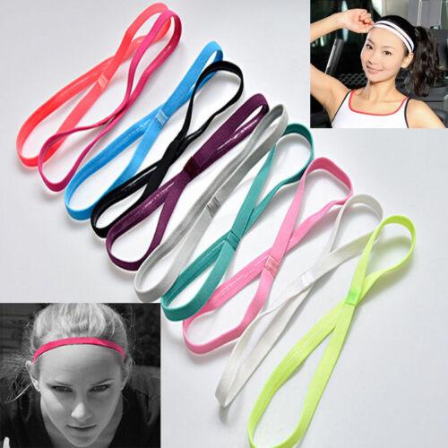 Unisex Stirnband Elastic Haarband Sport Yoga Gym Kopfband Stretch Haarschmuck