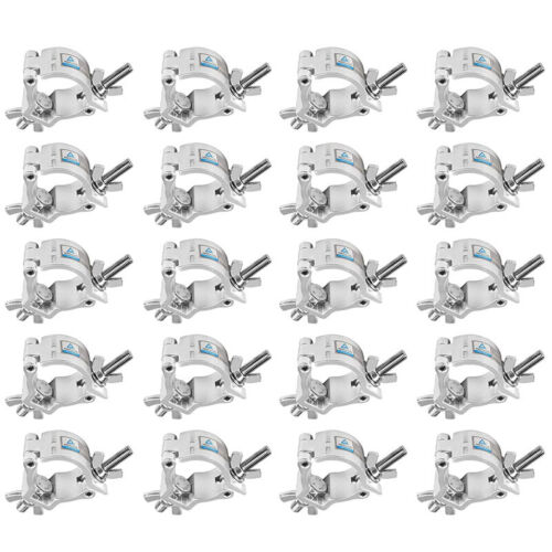 """20pcs Aluminum Alloy Stage Lighting Mount Fits Pipe OD 1½""""-1⅝"""" TUV Certificated"""