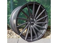 """19"""" Gunmetal Bola ZFR alloy Wheels and Tyres"""