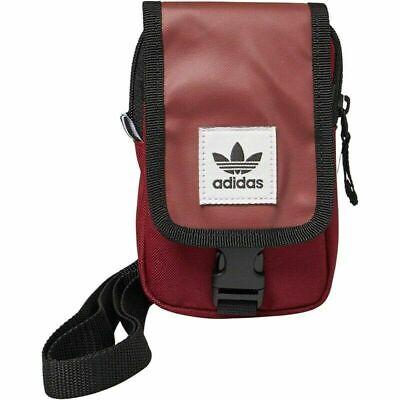 Adidas Originals Mapa Bolsa Trébol Mini Cruzado Bolso Bandolera DV2483 Burdeos
