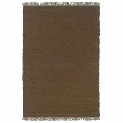 Chocolate Transitional Wool Rug (Hawthorne Collection 5'3