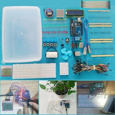 Gift Funny Toys Play Learn Ultimate Easy Starter Learning Kit For Arduino Uno R3