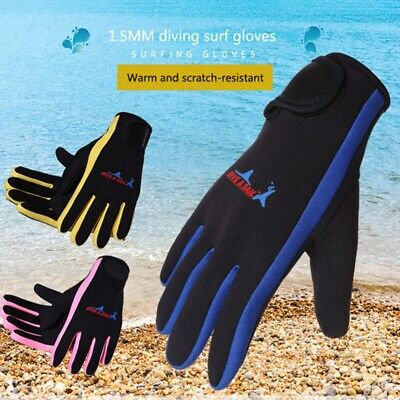 Scuba Dive Gloves - 1.5mm Cold Swim Cold-proof Swimming-Scuba-Snorkeling Surfing Diving Gloves