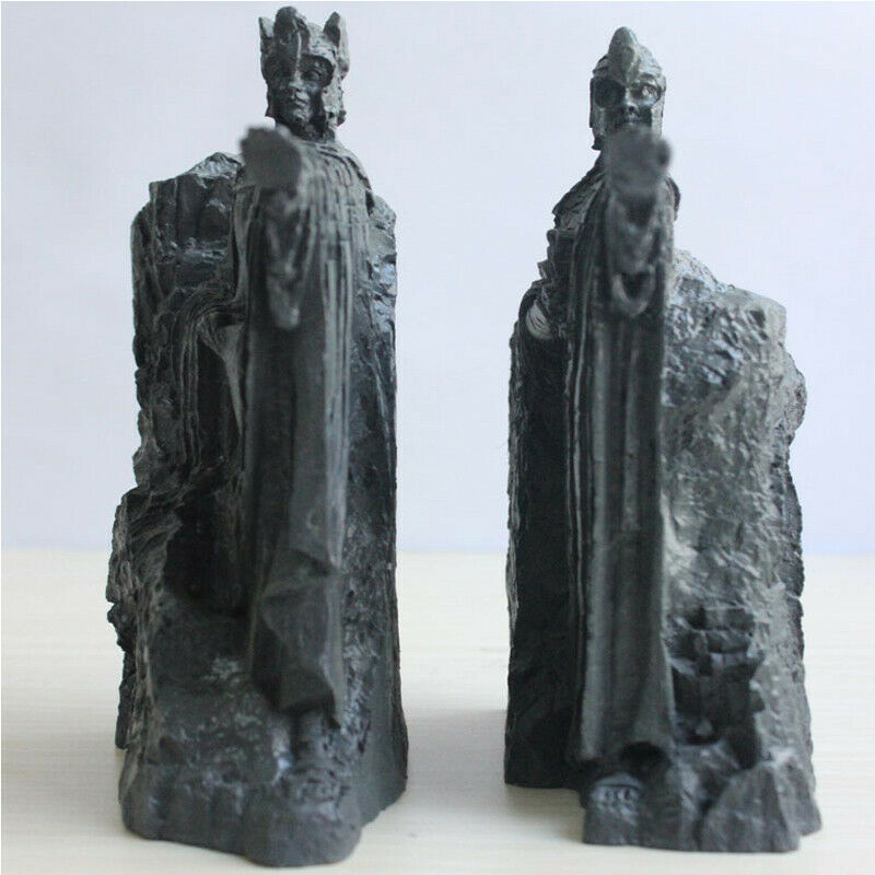 The Lord of the Rings Hobbit The Gates of Gondor Statue Bookends Resin Gift