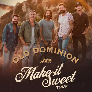 Two old dominion tickets may 12, 2019 mile one centre