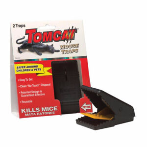 2x Tomcat Mouse / Mice / Rodent Traps