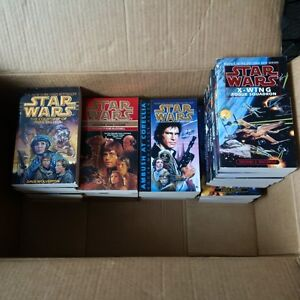 29 Paperback Star Wars books - each book read 1 time only!