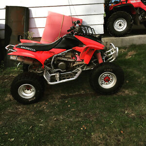 Trx 450r with title