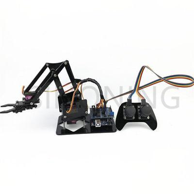 4dof Manipulator Arduino Robotic Arm Remote Control Ps2 Mg90s