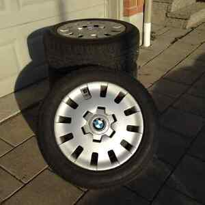 BMW Winter Wheels ( steel rims with hub caps )