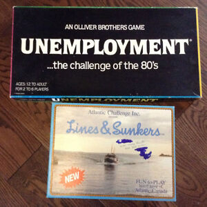 Board games from 80s and 90s