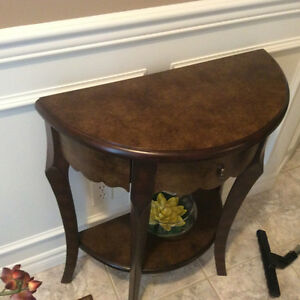entrance way table