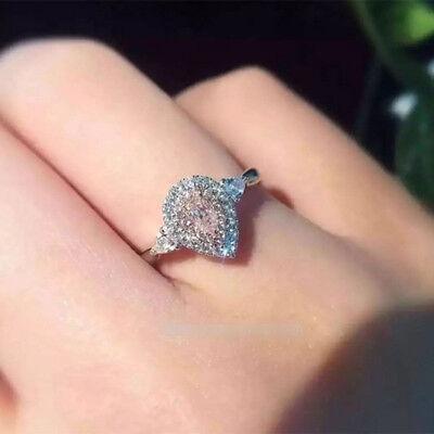Ring Circle Finger Hoop Diamond Luxury Ring For Women Bride