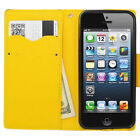 Yellow Wallet Cases for Apple Phones