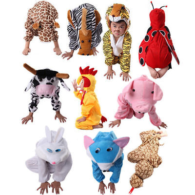 Children Kids Halloween Cartoon Animal Costume Costumes Jumpsuit for Boy Girl