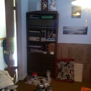 3 different book cases for sale