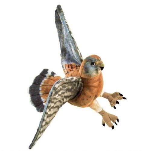 Folkmanis American Kestrel Raptor Bird Hand Puppet NEW