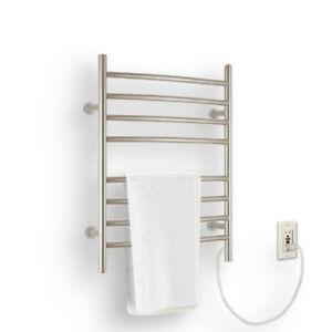 Ancona Comfort 8s Electric Towel Warmer & Drying Rack - plug-in