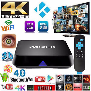 ANDROID TV BOXES 4K KODI 17.1 MOVIES, TV SHOWS (two available)